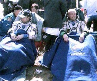 Kazakhstan landing