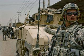 Baghdad patrol